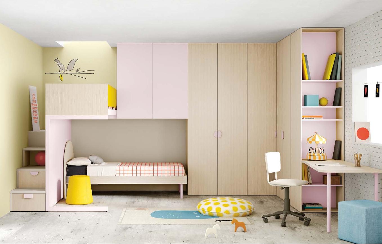 Cameretta galligani sergio mobili for Ikea camerette a ponte
